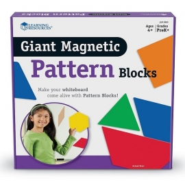 Bloques geométricos magnéticos gigantes