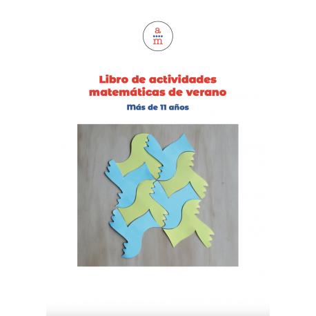 Libro impreso «Actividades matemáticas de verano + 11 años»