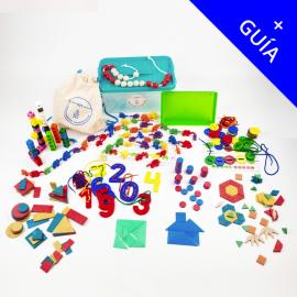 KAMI + GUÍA  (3-6 años): Kit Individual Aprendiendo Matemáticas  para Infantil