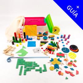 KAMP + GUÍA (6-12 años): Kit Individual Aprendiendo Matemáticas para Primaria