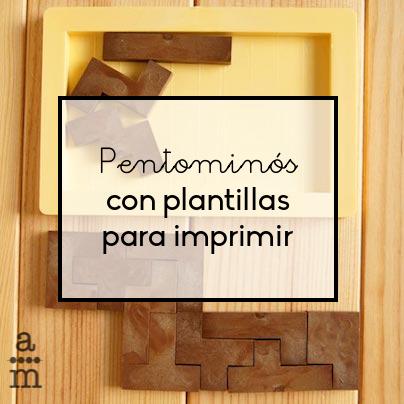 Pentomin s con plantillas para imprimir aprendiendo matem ticas - Plantillas pared ...