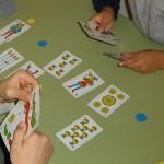Juego de cartas Veinte-veinte
