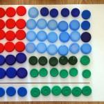 La multiplicación con tapones