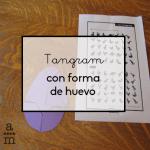 Tangram con forma de huevo