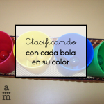 Clasificando cada bola en su color