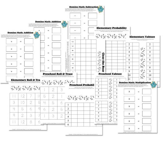 Matemáticas con el juego de dominó clásico - Aprendiendo ...