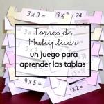 Torres de multiplicar, un juego para aprender las tablas