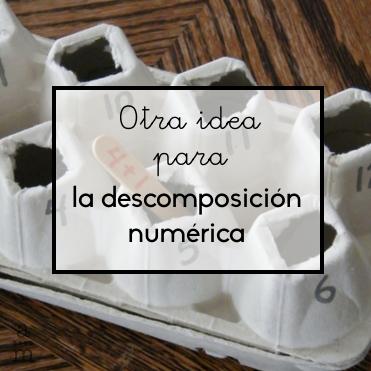 Otra idea para la descomposición numérica