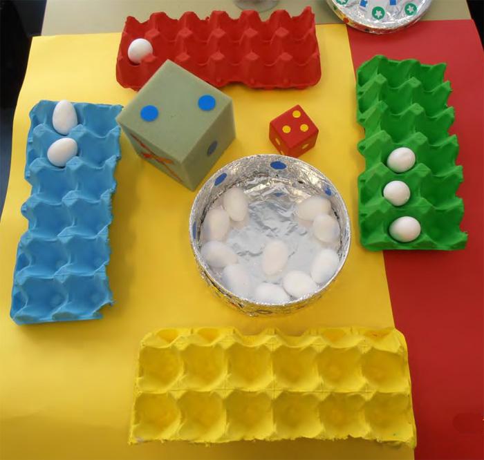 Jugamos con cartones de huevos para aprender matem ticas for Proyecto construccion de aulas escolares