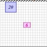 Multiplicar con una carrera de rectángulos