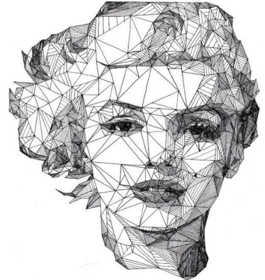 Dibujos con tringulos para aprender geometra  Aprendiendo