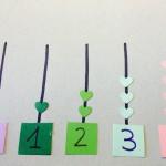 Cantidades y números de forma manipulativa