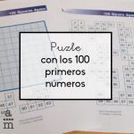 Puzle con los 100 primeros números