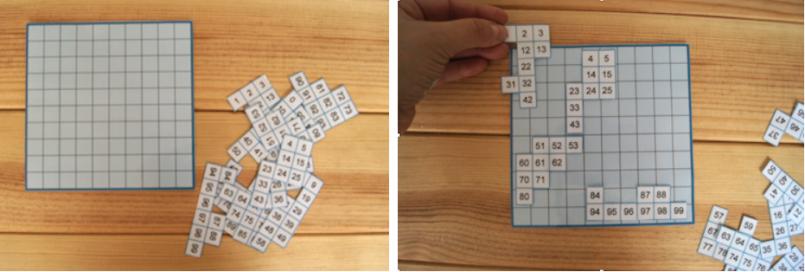 puzle tablero 628