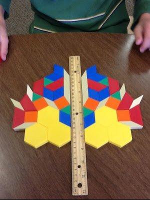 bloques geometricos simetria