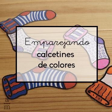 emparejando calcetines