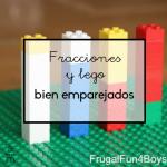 Fracciones y lego bien emparejados