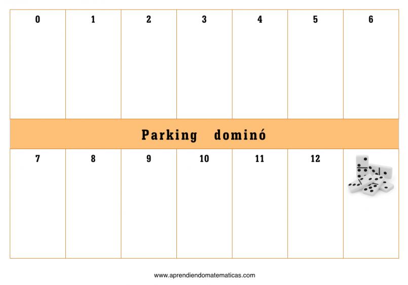plantilla parking domino