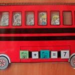 Autobús de sumas y restas