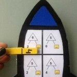 Cohetes para sumar, restar y descomponer números