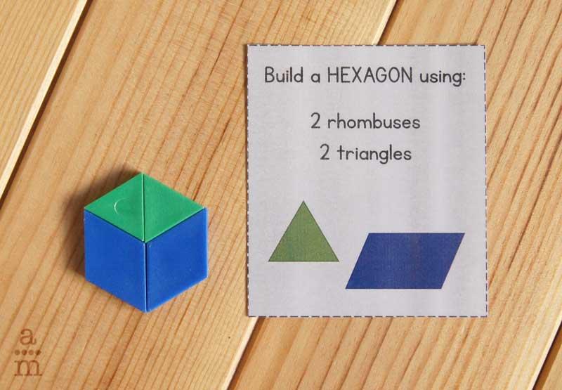 construcciones bloques geometrico