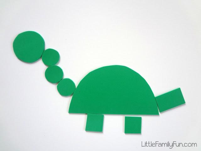 Geometra con dinosaurios  Aprendiendo matemticas