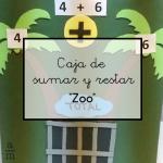 Caja de sumar y restar «Zoo»