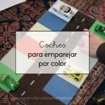 Coches para emparejar por color