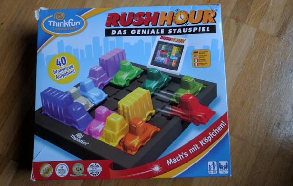 rush hour juego logico