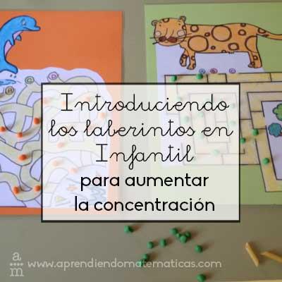 Introduciendo los laberintos en infantil para mejorar la concentración