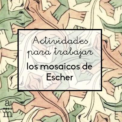 Actividades para trabajar los mosaicos de Escher - Aprendiendo ...