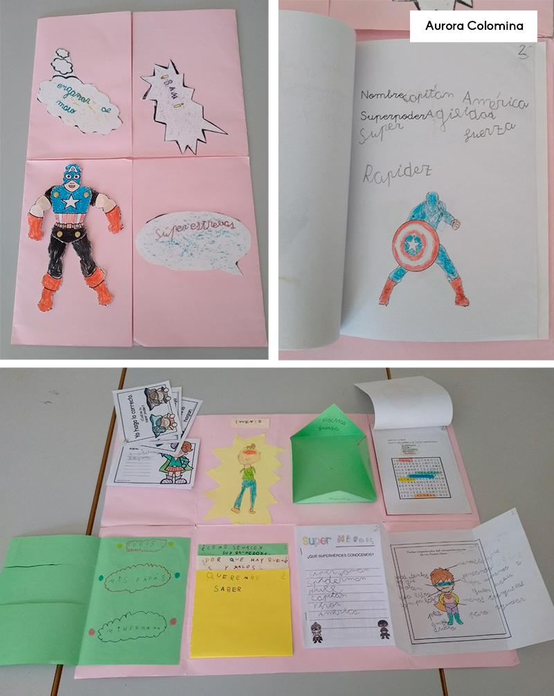 proyecto escolar los héroes