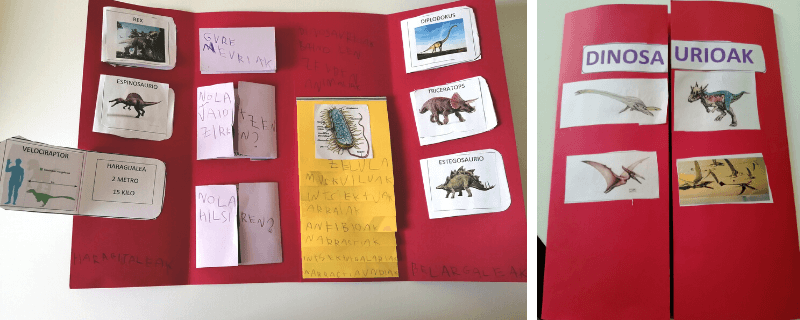 lapbook dinosaurios