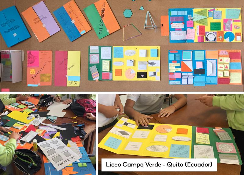 como crear un lapbook de geometria