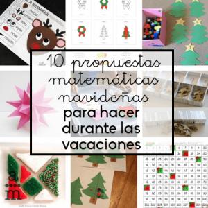 10 propuestas matemáticas navideñas para hacer durante las vacaciones