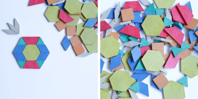 bloques geometricos