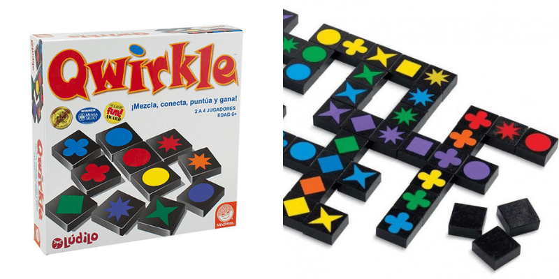 juego logica qwirkle
