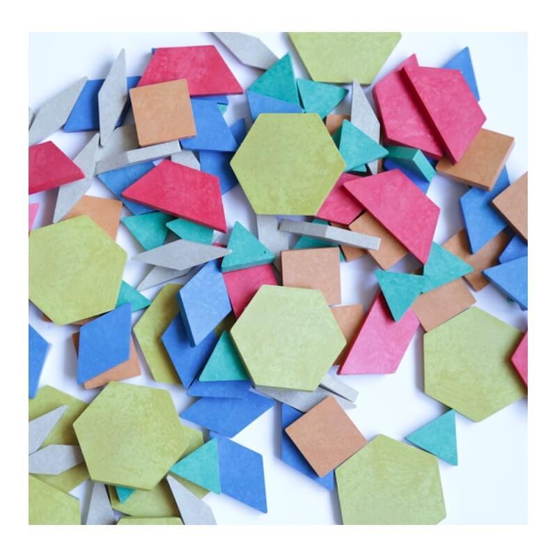 bloques geometricos rewood