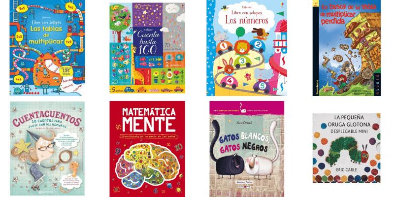 Los 15 mejores libros de matemáticas para Infantil y Primaria