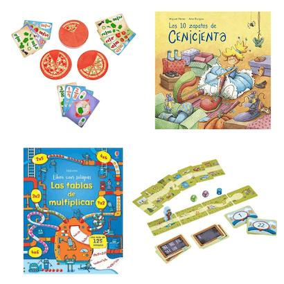 juegos libros matematicos