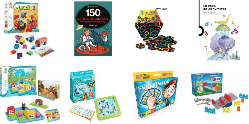 libros y juegos de matemáticas