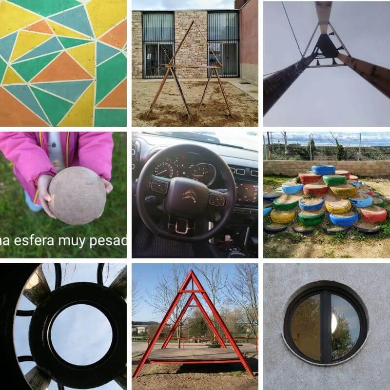 captar geometria cotidiana