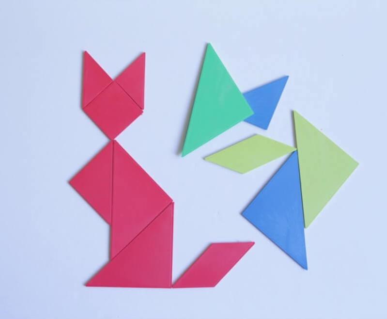 geometría tangram