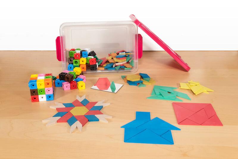 materiales manipulativos geometria