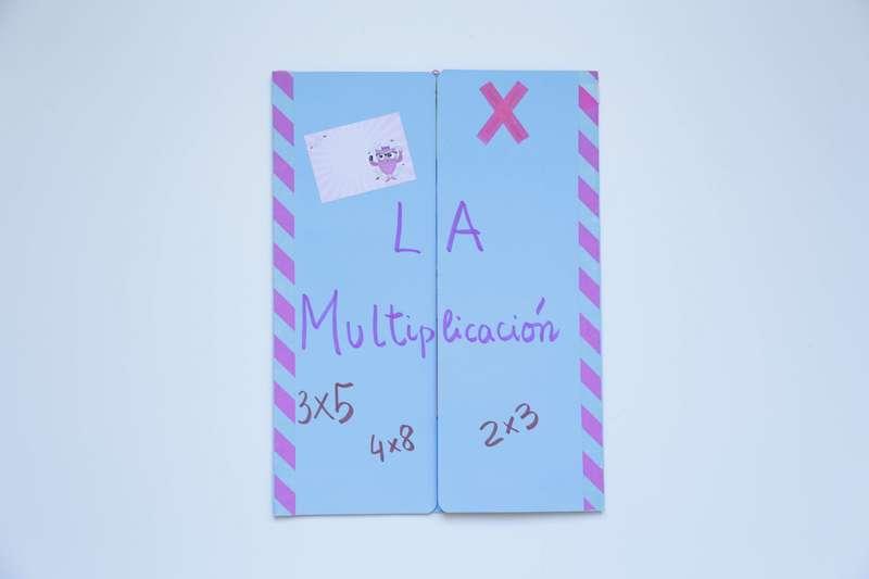 lapbook multiplicacion